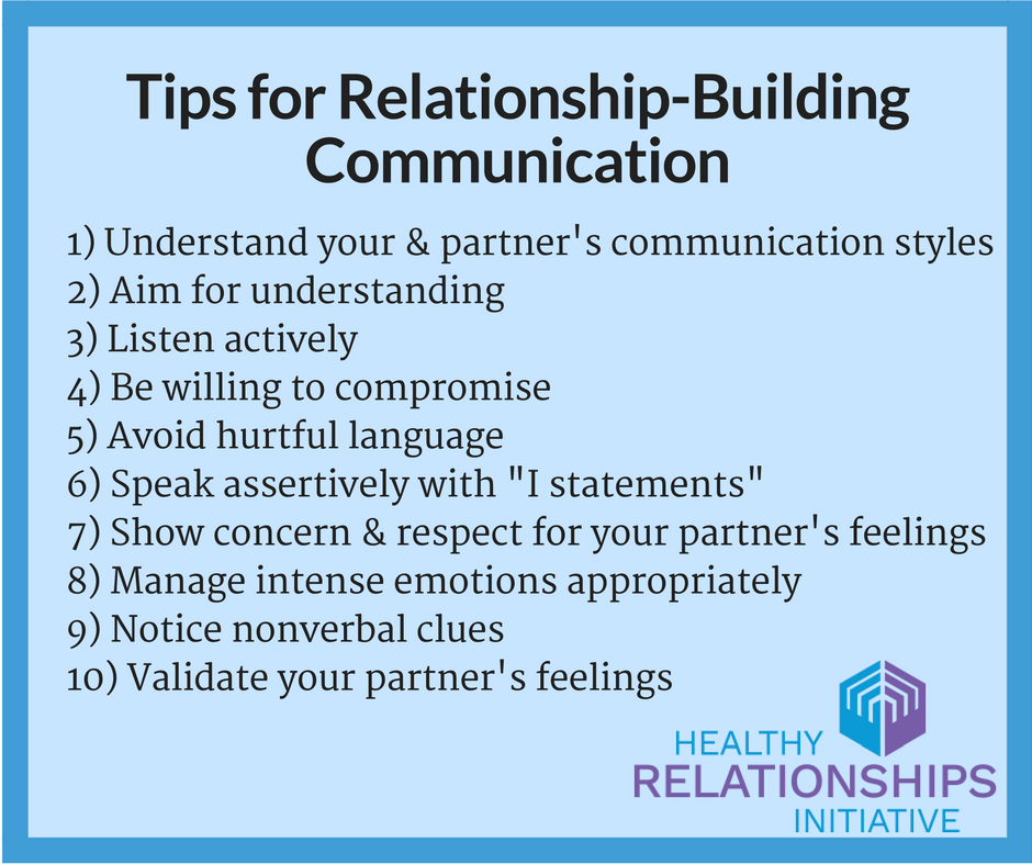 Relationship building for couples