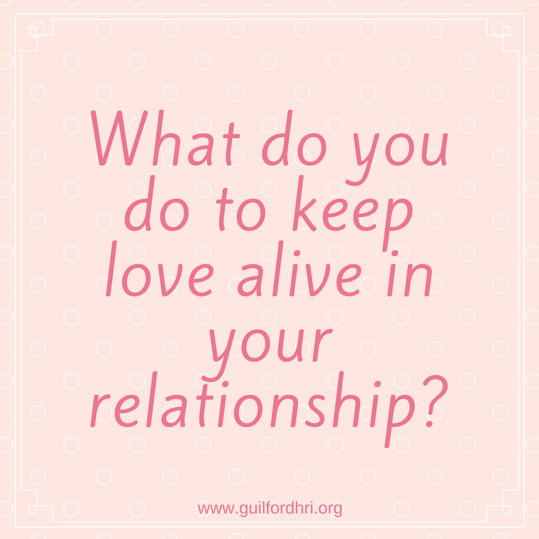 ways to keep a relationship alive