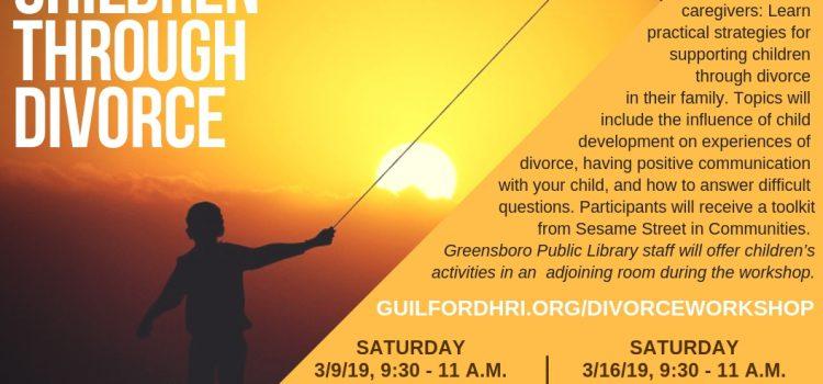 March 9 & 16, 2019: Family Village Workshop: Supporting Children Through Divorce