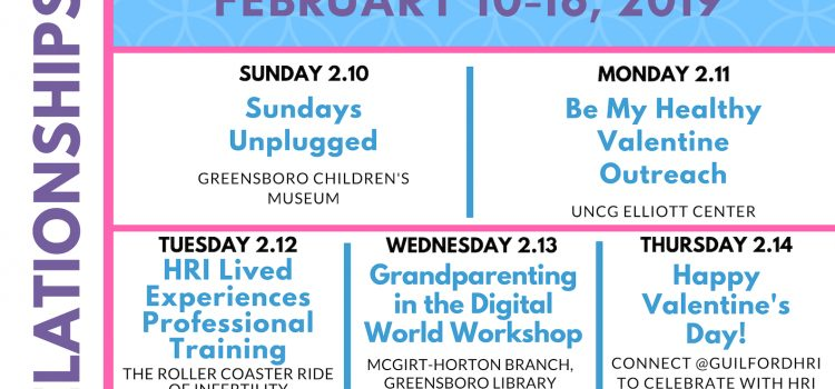 2/10-16/19: 3rd Annual Healthy Relationships Week