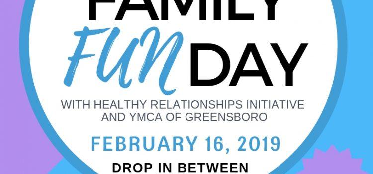 2/16/19: Family Fun Day with HRI & YMCA of Greensboro
