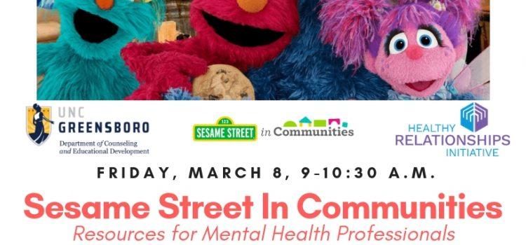 3/8/19: Sesame Street in Communities Professional Training