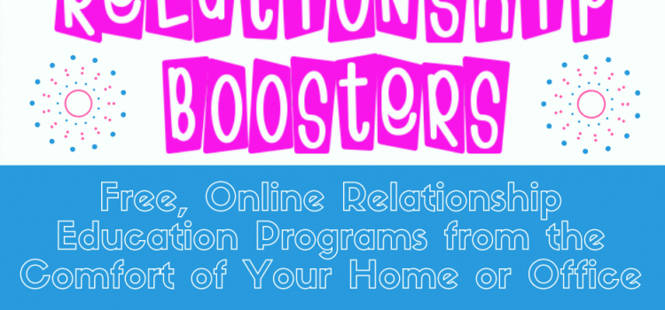 HRI's Online Relationship Boosters